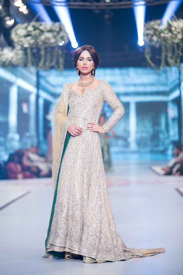 Faraz Manan Bridal Collection at PBCW 2014 Day 2  Pakistan's most anticipated bridal show, Pante...