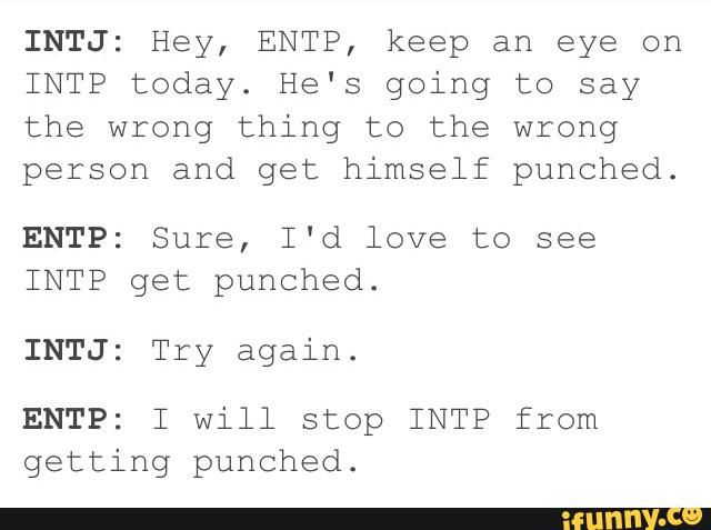 intp in relationship with entp