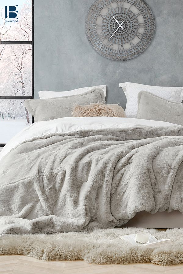 Luxurious Plush Twin, Queen, or King Extra Large Bedding