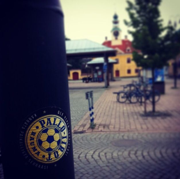 Pallo-Iirot. Kauppatori. #Rauma #Finland
