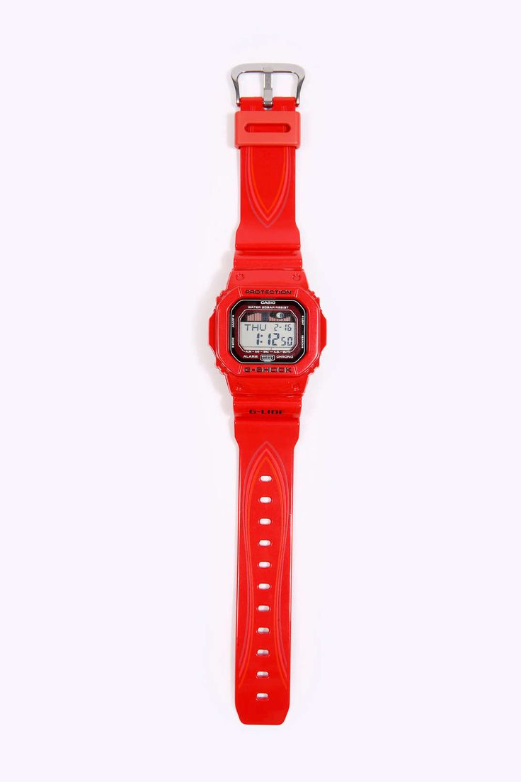 G Shock Red Glide Watch  #Urban #Guys #Watches #Perfect #Outfits #TheBest #Impress http://www.urbanoutfitters.co.uk/g-shock-red-glide-watch/invt/5852401251234/