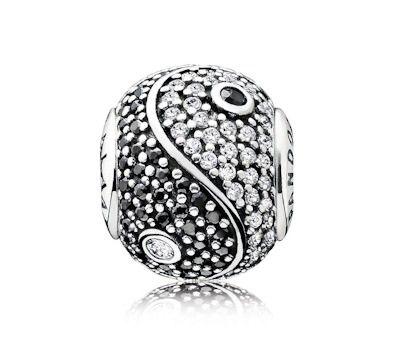 PANDORA ESSENCE BALANCE Charm | www.goldcasters.com. My favorite one....want!