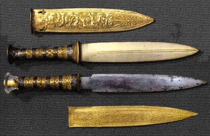 La daga que apareció en la tumba de Tutankamón está forjada con hierro de meteorito, y ahora sabemos por qué. 05/12/17