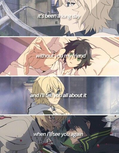 Owari No Seraph. I like it except for that grammar mistake!