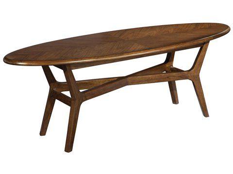 Mid Century Modern Surfboard Coffee Table Main Image