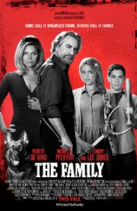 The Family starring Robert DeNiro, Michelle Pfeiffer and Tommy Lee Jones opens this week on Friday, September 13. It's the story about a Mafia boss and his family who are relocated in the Witness P...