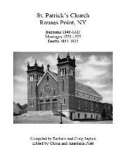 CLINTON COUNTY, NY - GENEALOGY AND FAMILY HISTORY LIBRARY - NNYACGS