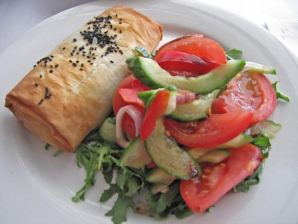 Lunch at the Royal Tasmanian Botanical Gardens restaurant, Queens Domain, Hobart.