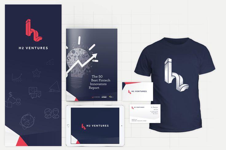 H2 Ventures Brand Design - design by Theysaurus