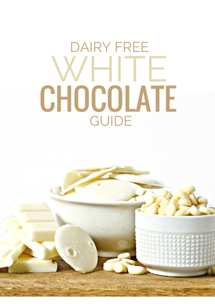 For my friends who can't digest dairy but who crave white chocolate... voilá!