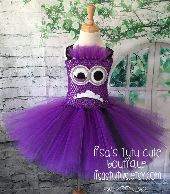 Hey, I found this really awesome Etsy listing at https://www.etsy.com/listing/245224254/evil-minion-tutu-evil-minion-tutu-dress