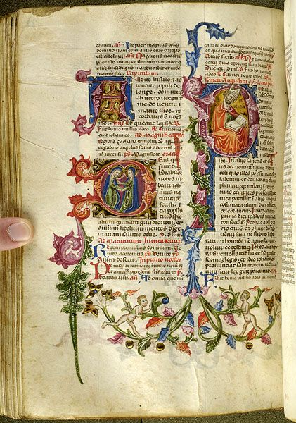 Breviary, MS M.200 fol. 295v - Images from Medieval and Renaissance Manuscripts - The Morgan Library & Museum