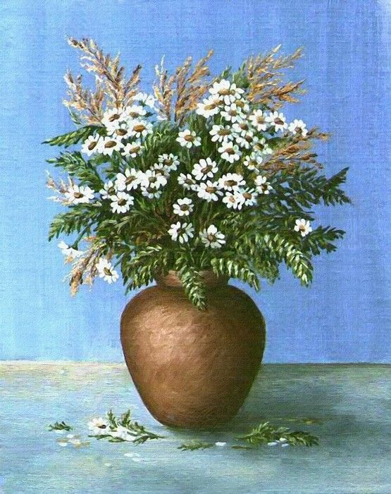 FLower Vaser Still Life Painting from $41.99 | www.wallartprints.com.au #StillLifeArt #WallArtPrints