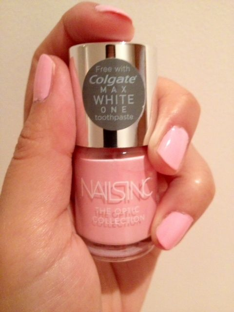 Barbie Nails! Nails Inc Optic Glow Review