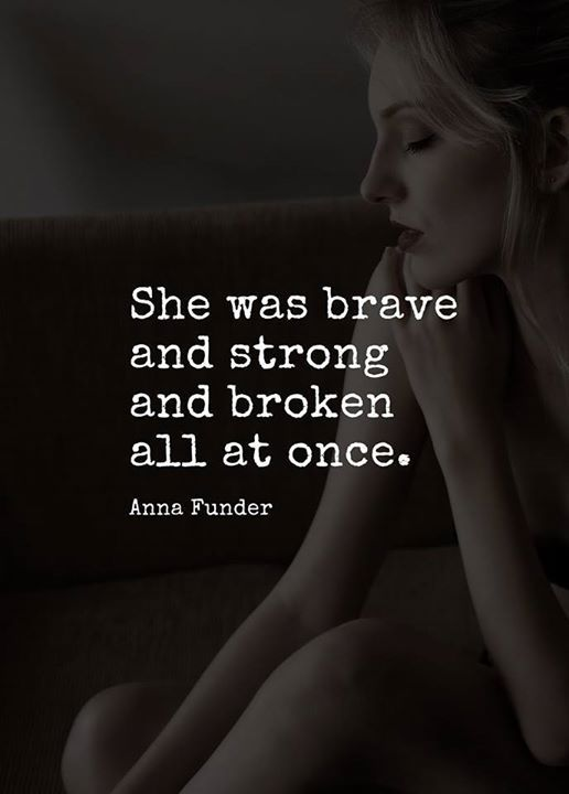 She was brave and strong and broken.. via (http://ift.tt/2yrXcoR)