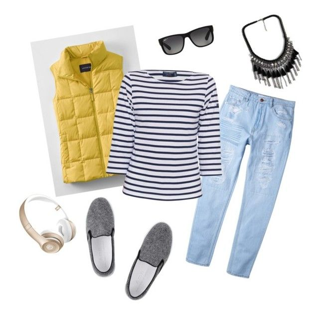 """""""Outfit box: spring"""" by risha69 on Polyvore featuring MANGO, Lands' End, Amb Ambassadors of minimalism, Saint James, Beats by Dr. Dre, Ray-Ban, women's clothing, women, female and woman"""