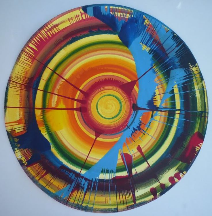 damien hirst spin painting book - Google Search