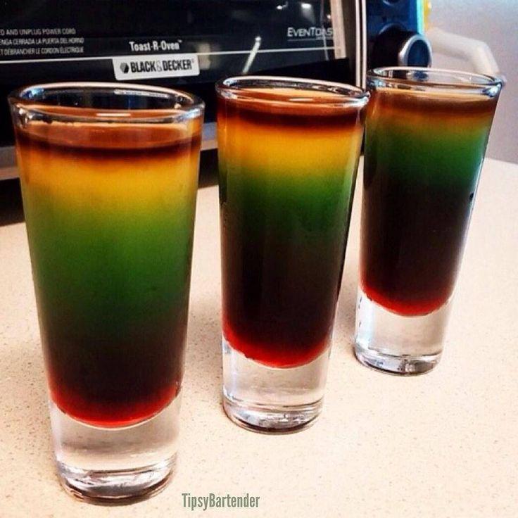 7 best shots shots shots images on pinterest cocktails for Orange and blue cocktails