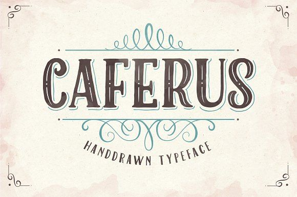Caferus by Flavortype on @creativemarket