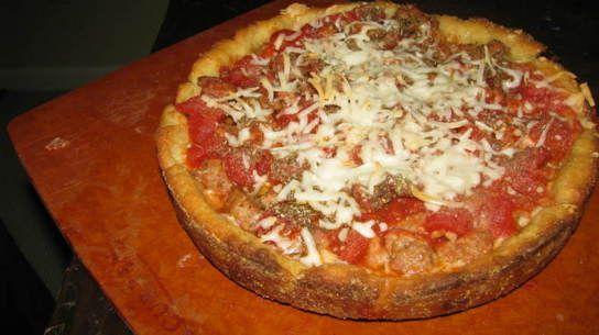 Gluten Free/Vegan Deep Dish Chicago Style Pizza Crust