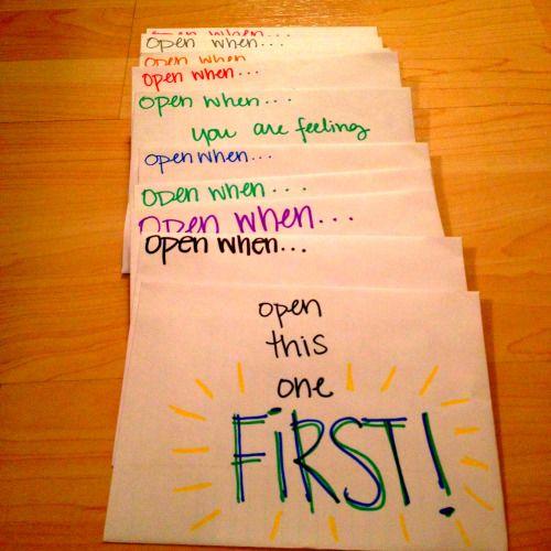 Letters For Boyfriend Open When