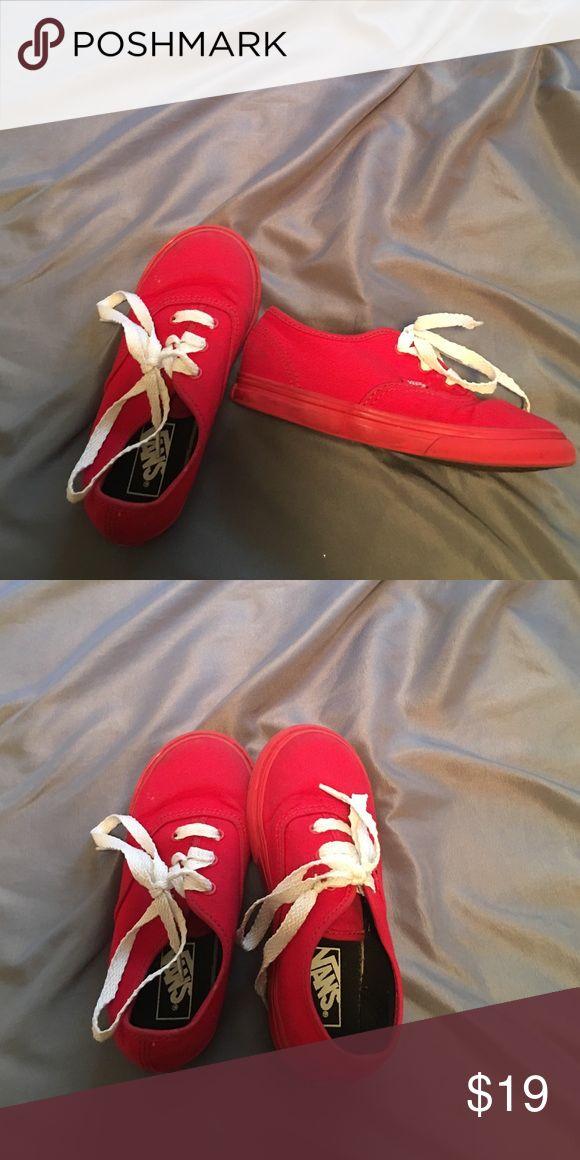 Kids Vans shoes Kids shoes good condition. Vans Shoes Sneakers