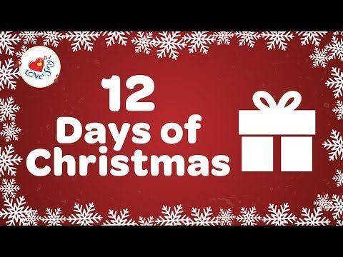 12 Days of Christmas with Lyrics 2018 Christmas Songs and Carols