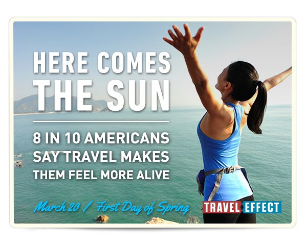 Don't suffer from #DayOffDeficit. Take time off, live #TravelEffect & become a happier, healthier you.10 American, Travel News, Living Traveleffect, Travel Inspiration, Travel Dreams, Happy Spring, Feelings Alive, Alive Traveleffect, Earn Time