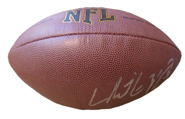 Stanford Cardinal Christian McCaffrey signed NFL Wilson full size football w/ proof photo. Proof photo of Christian signing will be included with your purchase along with a COA issued from Southwestconnection-Memorabilia, guaranteeing the item to pass authentication services from PSA/DNA or JSA. Free USPS shipping. www.AutographedwithProof.com is your one stop for autographed collectibles from Stanford & NCAA sports teams. Check back with us often, as we are always obtaining new items.