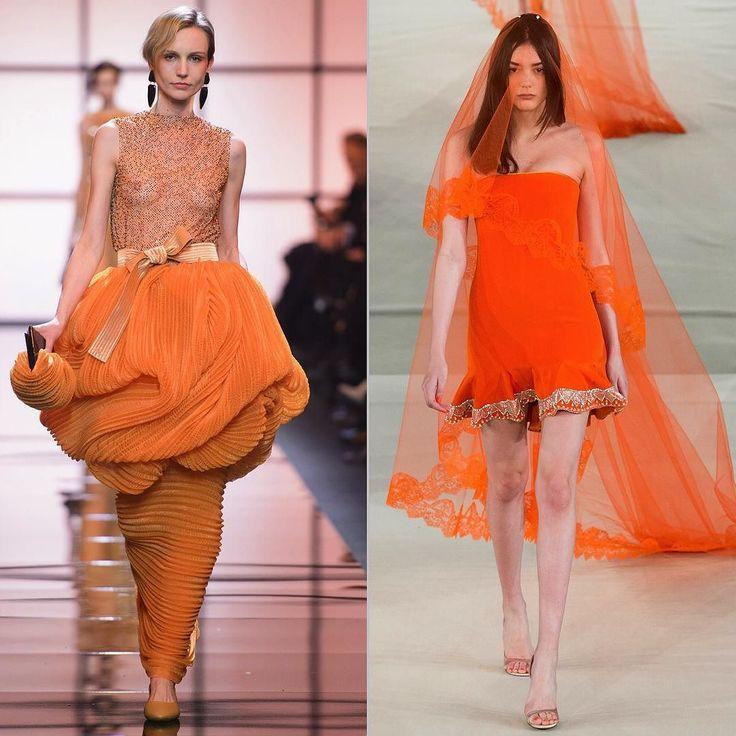 ОРАНЖЕВАЯ РЕВОЛЮЦИЯ Оранжевый цвет теперь надевают не только на светские рауты и гостьи на свадьбы но и невесты. А почему бы и нет? Цвет солнечный жизнерадостный разве не о такой жизни мечтает каждая девушка? Оранжевая революция в платьях от #Armani @armani и #AlexisMabille @alexismabille и в ярких акссесуарах в весеннем номере свадебного журнала BRIDE @brideandstyle #bridemagru #свадьба #невеста #мода #стиль #тренды #модель #платье #свадебноеплатье #wedding #fashion #bride #trends…