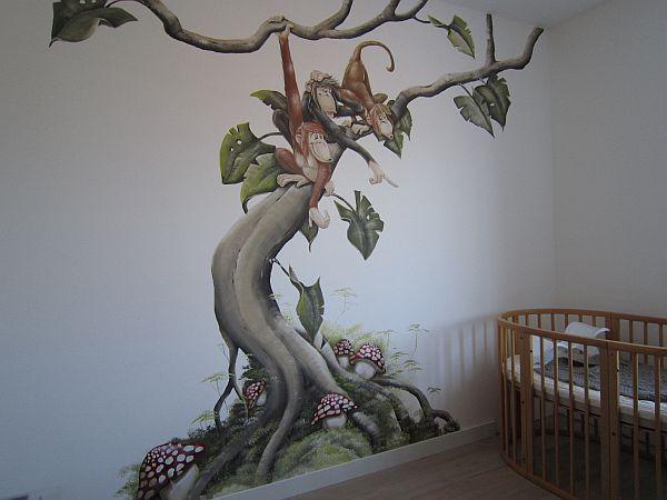 kinder kamer muurschilderingen