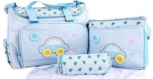 Oferta: 28.51€ Dto: -30%. Comprar Ofertas de V-SOL 4pics Bolso Bolsillo Maternal Para Biberón Colchoneta Pañal Carrito De Mano Azul De Cielo barato. ¡Mira las ofertas!