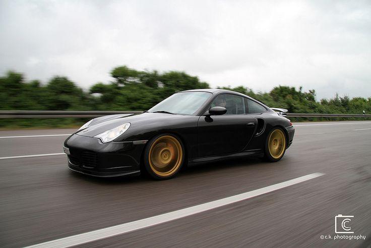 Porsche 996 Turbo w/bronze wheels