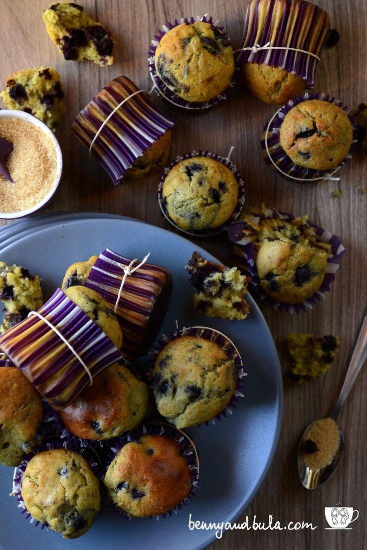 Ricetta muffin ai mirtilli/Blueberry muffins recipe