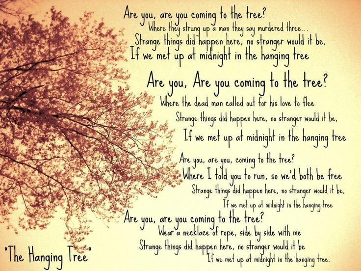 Games 3 games hunger tree lyrics trees hanging tree i tree hunger