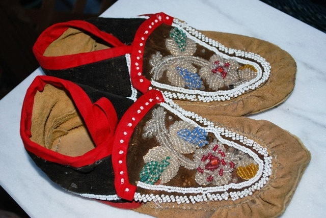 Moccasins Traditional styles for Men Women and by WalksWithHorses, $75.00