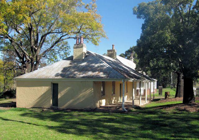 Governors Dairy, Parramatta Park