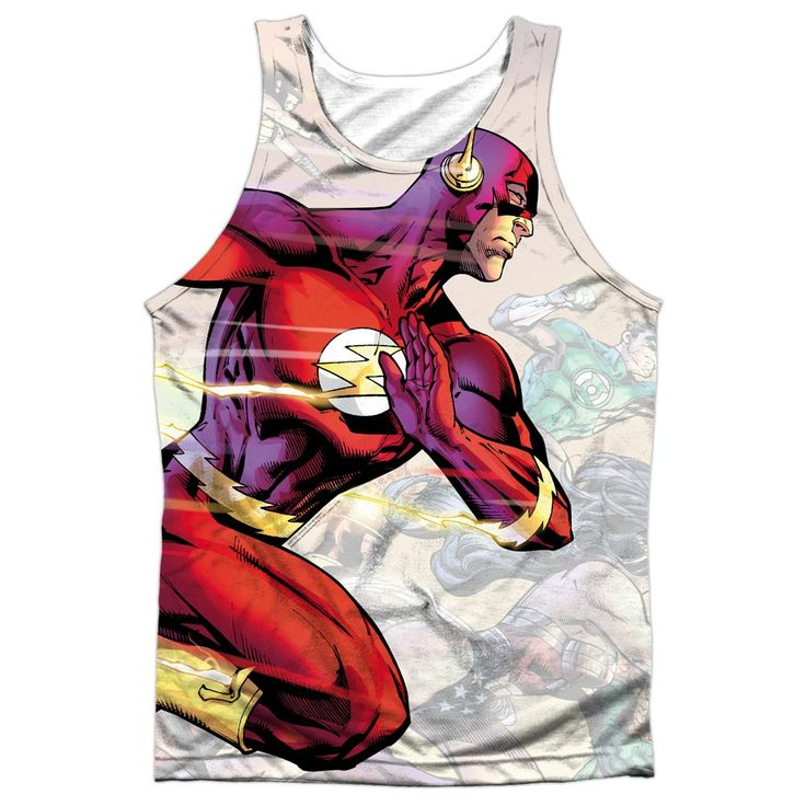"""Checkout our #LicensedGear products FREE SHIPPING + 10% OFF Coupon Code """"Official"""" Jla/taking The Lead-adult 100% Poly Tank T- Shirt - Jla/taking The Lead-adult 100% Poly Tank T- Shirt - Price: $24.99. Buy now at https://officiallylicensedgear.com/jla-taking-the-lead-adult-100-poly-tank-shirt-licensed"""
