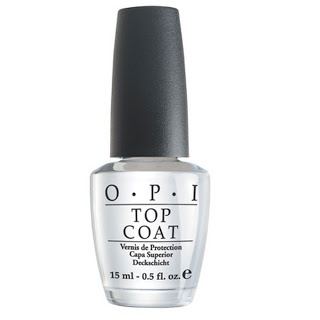 OPI Top Coat  Today I like blog