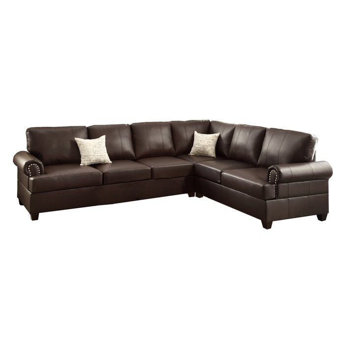 Manila 114 Reversible Sectional Reviews Birch Lane In 2020 Sectional Furniture Sectional Sofa