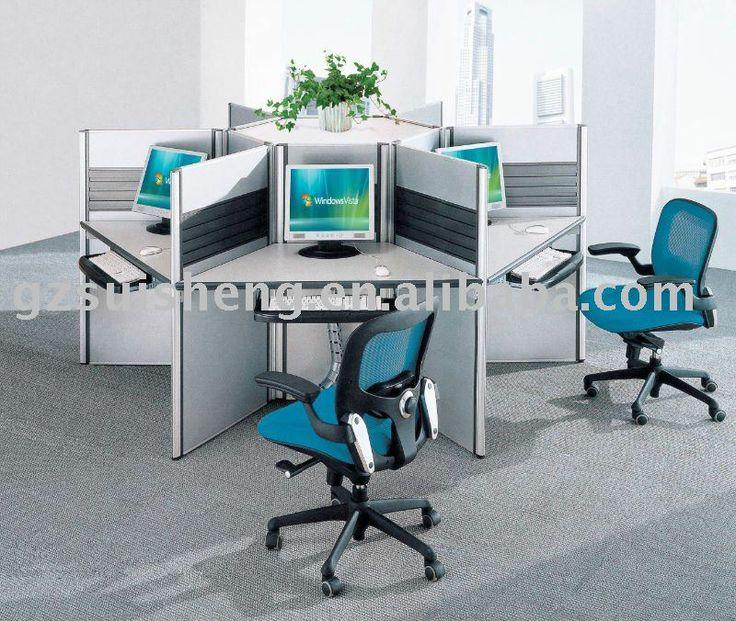 modern office call center modern desk