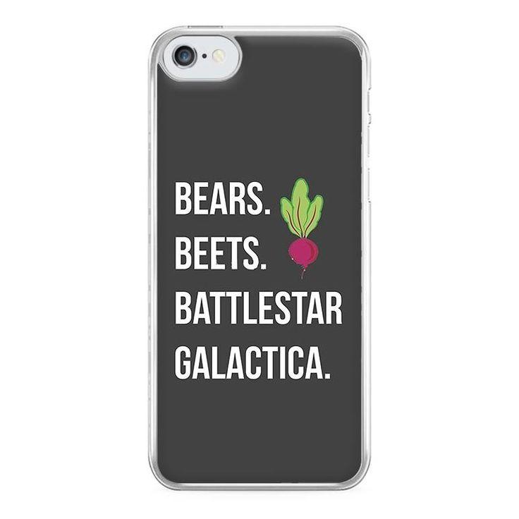 Bears. Beets. Battlestar Galactica Illustration – The Office Phone Case