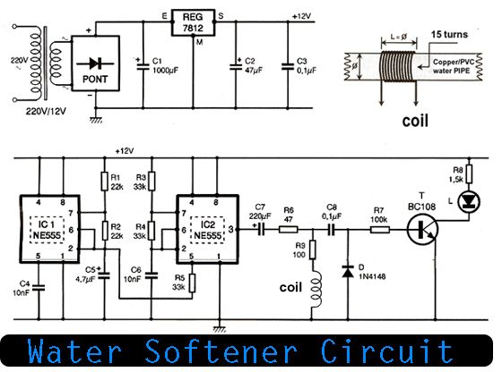 water softener circuit