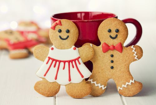 gingerbread! makes me :)