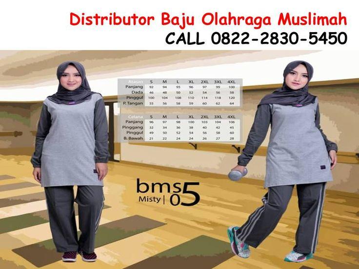 Baju Olahraga Muslimah Modis