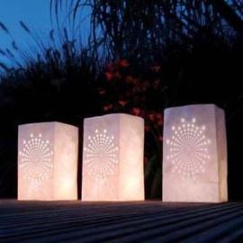 Candle Bag Sunshine | Verlichting | LangZalZeLeven 1 euro 26,5 cm hoog