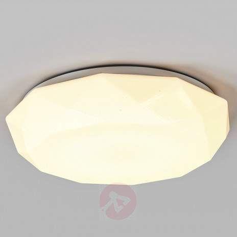 LED-taklampe Mariam av plast-9974002-22
