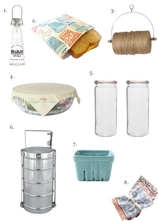 8 Reusable Solutions & Food Storage Ideas For the Kitchen