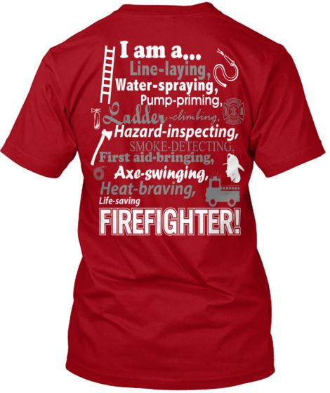 My baby girl is a Female Firefighter!