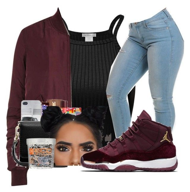 """1•25•17"" by dxsirxx ❤ liked on Polyvore featuring Topshop, NIKE and Eco Style"